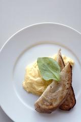 """""""世界一の卵料理""""と評される「オーガニックスクランブルエッグ」"""