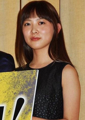 映画『その夜の侍』の初日舞台あいさつを行った谷村美月 (C)ORICON DD inc.