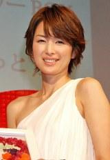 """第5回『女性が選ぶ""""なりたい顔""""ランキング』、10位に選ばれた吉瀬美智子 (C)ORICON DD inc."""