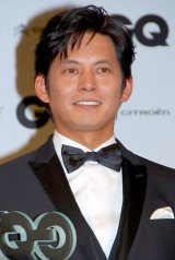 『GQ MEN of the Year 2012』授賞記者会見に出席した織田裕二 (C)ORICON DD inc.