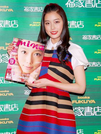 サムネイル ファッション誌『mina』の初表紙記念イベントを行った吉倉あおい (C)ORICON DD inc.