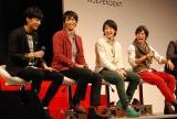会場には歴代受賞者も駆けつけた(左から)竹内寿、市川知宏、上遠野太洸、佐野岳