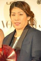 『VOGUE JAPAN Women of the Year 2012』の授賞式に出席した吉田沙保里 (C)ORICON DD inc.