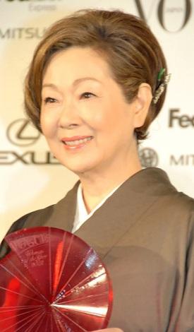 『VOGUE JAPAN Women of the Year 2012』の授賞式に出席した由紀さおり (C)ORICON DD inc.