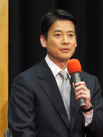 NHK60周年記念『メイドインジャパン』の会見に出席した唐沢寿明 (C)ORICON DD inc.