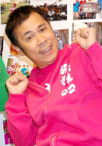 日本テレビ系旅番組『東野・岡村の旅猿 プライベートでごめんなさい…』思い出写真展の会見に出席したナインティナイン・岡村隆史 (C)ORICON DD inc.