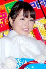 フジテレビの女子アナ新ユニット『キラキラ WINTER SEVEN』を結成した本田朋子アナウンサー (C)ORICON DD inc.