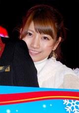 フジテレビの女子アナ新ユニット『キラキラ WINTER SEVEN』を結成した三田友梨佳アナウンサー (C)ORICON DD inc.