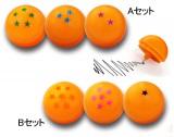 前売り特典はドラゴンボール型のボールペン。AセットとBセット、それぞれ3個ずつ。最後の1つは如何に?!(C)バードスタジオ/集英社  (C)「2013ドラゴンボールZ」製作委員会
