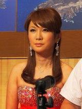 『いきなり!黄金伝説。〜2012年末東京の島でサバイバル大賞 6時間SP』に挑むはるな愛 (C)ORICON DD inc.