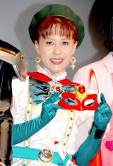 22年ぶりにポワトリンに扮して公の場に登場した花島裕子 (C)ORICON DD inc.