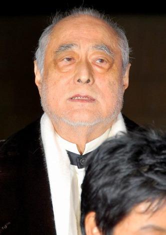 映画『ストロベリーナイト』の完成披露舞台あいさつに出席した津川雅彦 (C)ORICON DD inc.