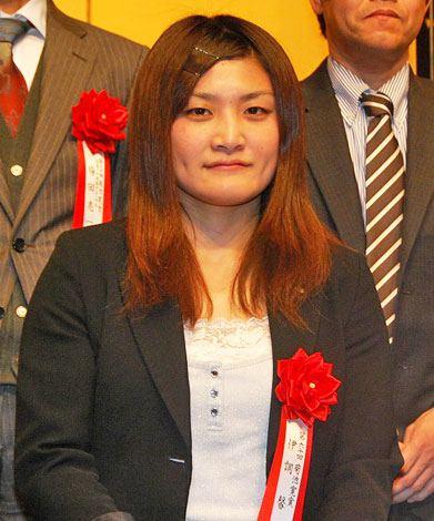 第60回菊池寛賞授賞式に出席した女子レスリング伊調馨選手 (C)ORICON DD inc.