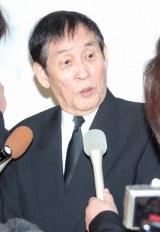 森光子さんの本葬に参列した萩本欽一 (C)ORICON DD inc.