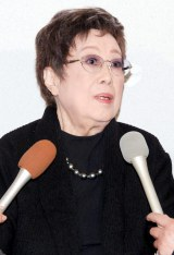 森光子さんの本葬に参列した赤木春恵 (C)ORICON DD inc.