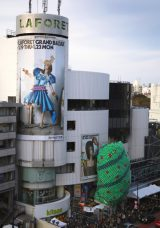 スティーブ・ナカムラ氏が手がけたラフォーレ原宿の広告