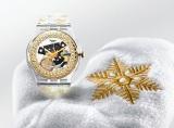 「スウォッチ」のクリスマススペシャルコレクション『Snow Your Time Away』