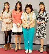 その他、美女役を横山めぐみ(右端)、中村静香が演じる (C)ORICON DD inc.
