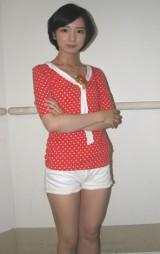 映画『仮面ライダー×仮面ライダー  ウィザード&フォーゼMOVIE大戦アルティメイタム』で「美少女戦士ポワトリン」役を演じる入来茉里。