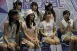 前列右が仲川遥香、右から2人目が高城亜樹(C)JKT48 Project