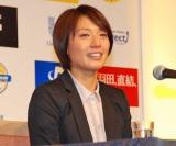現役引退を表明した浅尾美和選手 (C)ORICON DD inc.