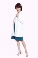 「コドモ警視」で初めて保健室の先生&警視役に挑む釈由美子