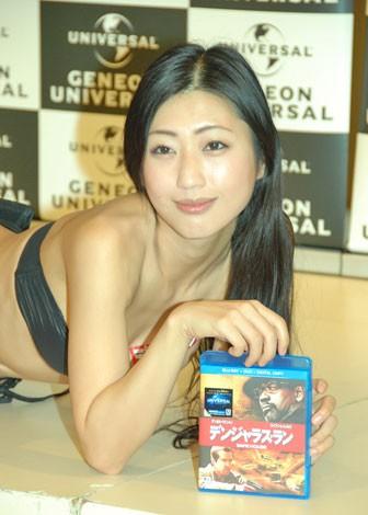 映画『デンジャラス・ラン』のブルーレイ&DVD発売記念イベントに出席した壇蜜 (C)ORICON DD inc.