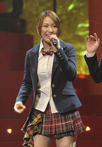 「第2回AKB48紅白対抗歌合戦」でAKB48を卒業する増田有華【撮影:鈴木一なり】