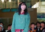 東京・池袋のサンシャイン水族館のイベント『バードフライングショー』に登場したSKE48・高柳明音 (C)ORICON DD inc.