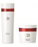 江崎グリコ初の化粧品ブランド「gg」から発売される『gg エレジナ ローション』と『gg エレジナ クリーム』
