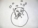 『情熱大陸』の取材を受ける心境を即興で絵に…。12月23日の放送は泣けるパラパラ漫画で世界を虜にした鉄拳に密着(C)MBS