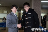 サッカー日本代表の内田篤人(左)が月9ドラマにゲスト出演。AKIRA(右)と共演
