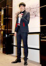 スイスの時計ブランド『ゼニスブティック銀座』オープニングセレモニーに出席した城田優 (C)ORICON DD inc.