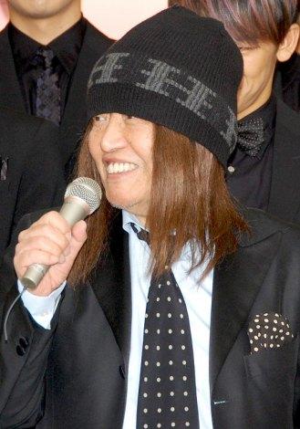 『第54回輝く!日本レコード大賞』の記者会見に出席したムッシュかまやつ (C)ORICON DD inc.