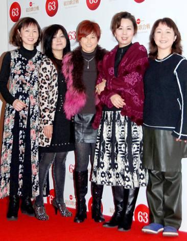 『第63回NHK紅白歌合戦』のリハーサルに臨んだプリンセス プリンセス (C)ORICON DD inc.