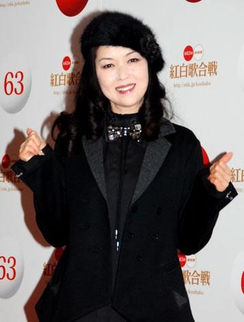 『第63回NHK紅白歌合戦』のリハーサルに臨んだ藤あや子 (C)ORICON DD inc.