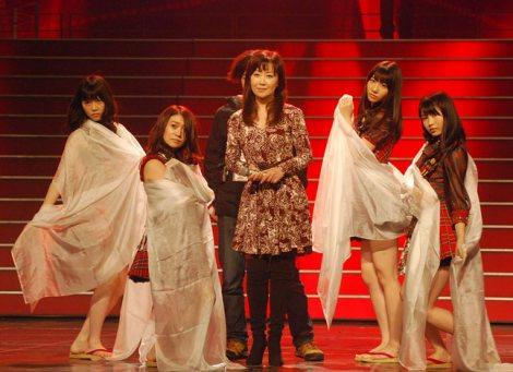 『第63回NHK紅白歌合戦』のリハーサルに臨んだ伍代夏子 (C)ORICON DD inc.
