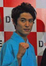 DVD『D☆DATE TOUR 2012〜DATE A LIVE〜』発売記念イベントを行った堀井新太 (C)ORICON DD inc.