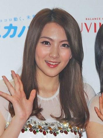 コンサート『KARASIA 2013 HAPPY NEW YEAR in TOKYO DOME』公演前の取材に応じたジヨン (C)ORICON DD inc.