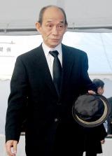 歌舞伎俳優の中村勘三郎さんの本葬に参列した笹野高史 (C)ORICON DD inc.