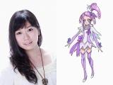 キュアソード役の宮本佳那子(C)ABC・東映アニメーション