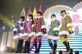 ライブを行ったももいろクローバーZ(左から高城れに、佐々木彩夏、百田夏菜子、有安杏果、玉井詩織)