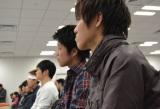 【イベントの様子】武田鉄矢の話を熱心に聞き入る生徒たち (C)ORICON DD inc.
