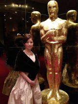 華やかな米アカデミー賞授賞式のレッドカーペットの熱気を中野美奈子アナが生中継で伝える(C)WOWOW