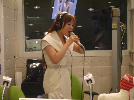 平原綾香は番組内で生歌を披露