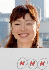 NHKと日本テレビの共同制作特別番組の会見に出席した有働由美子アナウンサー (C)ORICON DD inc.