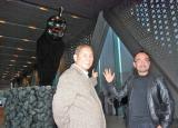 現代美術家のヤノベケンジ氏とタッグを組んで制作に挑んだオブジェをお披露目 (C)ORICON DD inc.