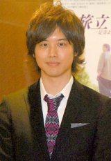 舞台『旅立ち〜足寄より〜』全国公演記者会見に出席した三浦祐太朗 (C)ORICON DD inc.