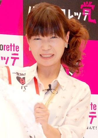 映画『バチェロレッテ あの子が結婚するなんて!』のCM撮影イベントに出席したオアシズ・大久保佳代子 (C)ORICON DD inc.