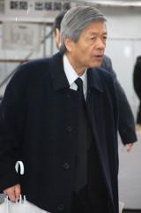 大島渚さんの告別式で弔辞を述べた田原総一朗 (C)ORICON DD inc.